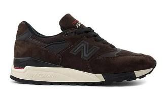 New Balance 998 Brown/Black