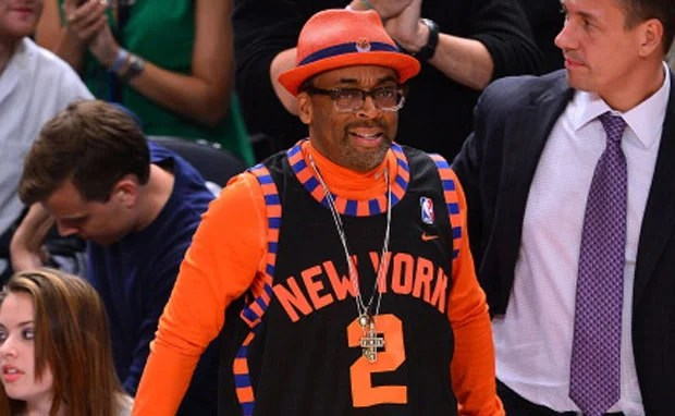 """buy popular 9e977 00885 Spike Lee Debuts """"Knicks"""" Foamposites"""