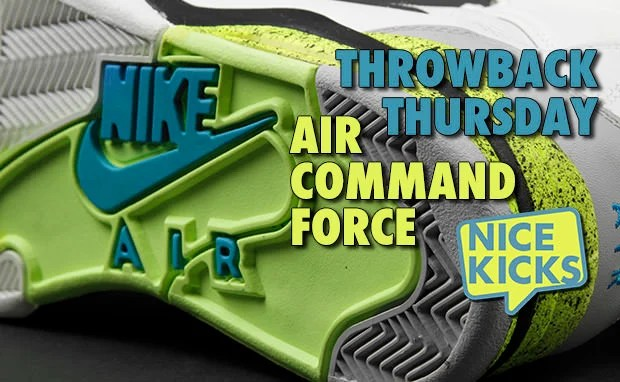 Nike Air Command Force Throwback Thursday