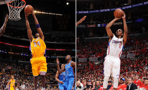 """d96522adc28 Kicks On Court  Kobe Unwraps """"Christmas"""" Shoes   Nick Young Revisits  LeBron s """"First Game"""""""