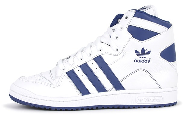 check out 5540c 3b996 adidas Decade Hi White Bluebird