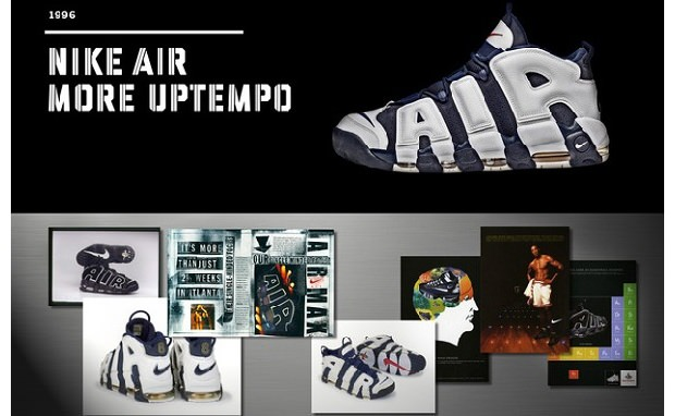 20 Designs That Changed the Game: Nike Air More Uptempo