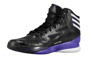 adidas adiZero Crazy Light 2 Black/White-Regal Purple