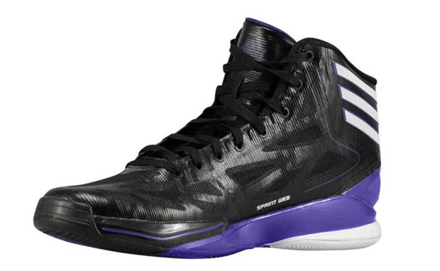 Adidas AdiZero Crazy Light 2 Black/White Regal Purple