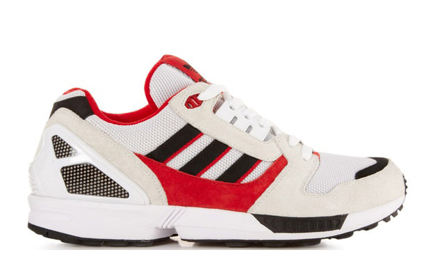 brand new ca8cd 1a1c1 adidas ZX 8000 White/Black-Light Scarlet | Nice Kicks