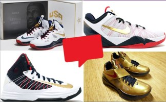 "100% authentic 5e70f b59d1 Nike Basketball ""Gold Medal"" Collection"