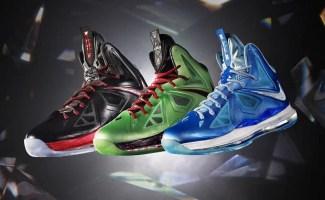 787c9ffdff845 Nike LeBron X Blue Diamond