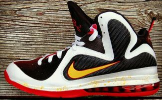 "Nike LeBron 9 ""MVP A-Like"" Custom"