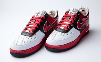 """detailed look 9e9f5 a8747 Nike Air Force 1 Bespoke """"Scottie Pippen"""" by Layupshot"""