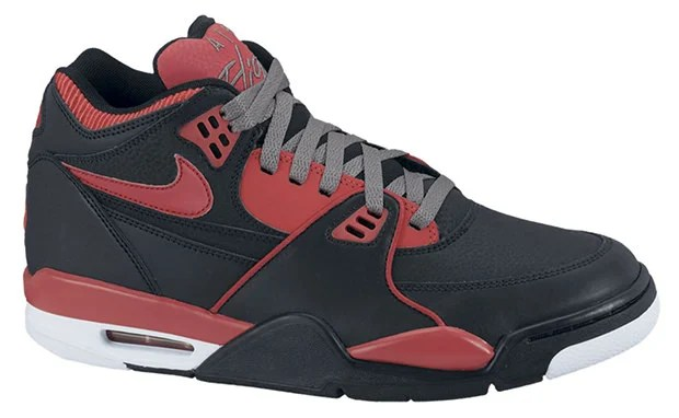 factory authentic 86bb6 844ca Nike Air Flight 89 Black Sport Red