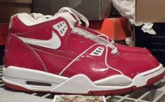 "b3a7bb0a7779 Bring  em Back  Nike Air Flight 89 ""Red Patent"""