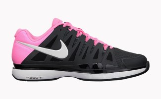 e8672902b9b34 Nike Zoom Vapor 9 Tour Anthracite Polarized Pink