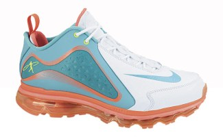 hot sale online 75115 c29dc Nike Air Griffey Max 360 White Burnt Turquoise-Total Crimson