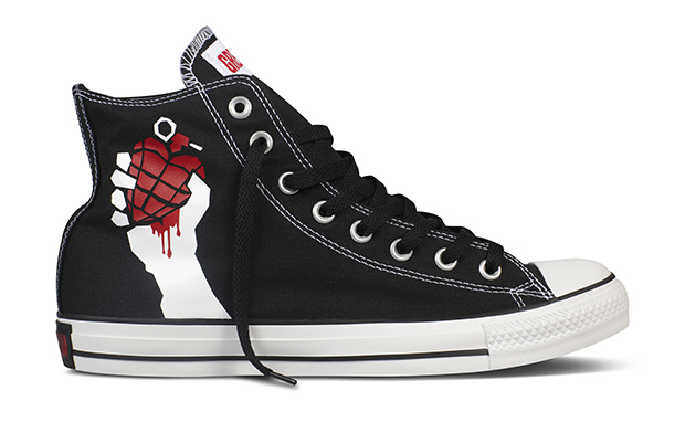 459ac131f5d9 Green Day x Converse Chuck Taylor Collection