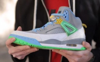 "official photos 8fa97 cbac5 Live Look  Jordan Spizike ""Poison Green"""
