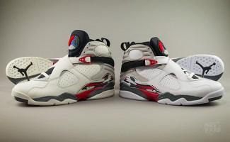 "Air Jordan 8 ""Bugs Bunny"" 1993   2013 Comparison 15e087613"