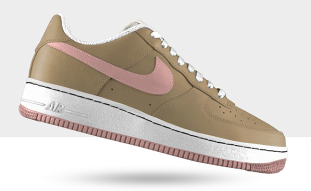 "official photos 82e08 3f8be Nike Air Force 1 ""Linen"" Available Through Nike iD"