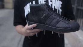 """new arrival 5c89a 6a396 Big Sean x adidas Originals Pro Model II """"All-Black"""" Unboxing"""