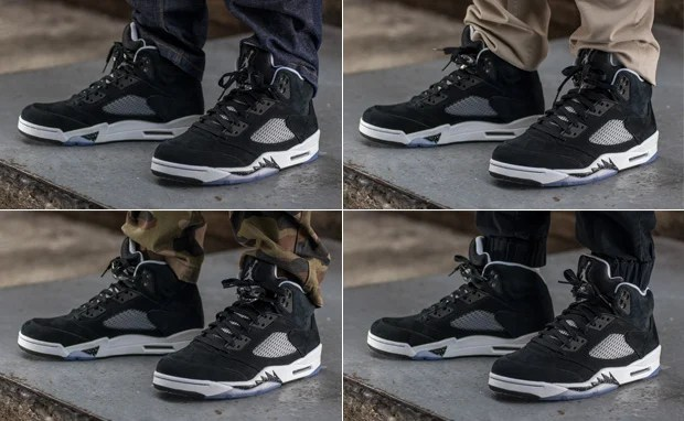 new styles e117d 8ad86 On-Foot Look: Air Jordan 5