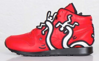 Keith Haring x Reebok Classic Leather Mid e682827d6499