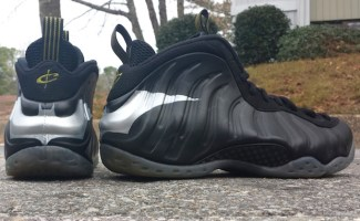 7f19b8bb6faf Nike Air Foamposite One Dark Knight Custom | Nice Kicks
