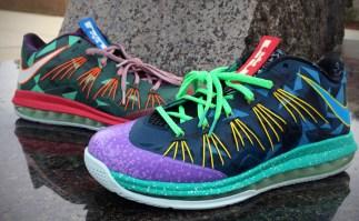 Nike Air Max LeBron X Low What the MVP Custom
