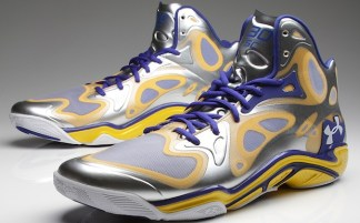 100% authentic 80513 53786 Under Armour Anatomix Spawn Silver Stephen Curry PE