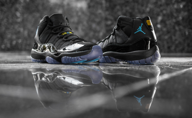 "san francisco f5f32 683b0 Weekly Wallpaper  Air Jordan 11 ""Gamma Blue"""