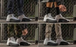 new concept 05fd3 cde46 Air Jordan 12 Taxi On-Foot | Nice Kicks