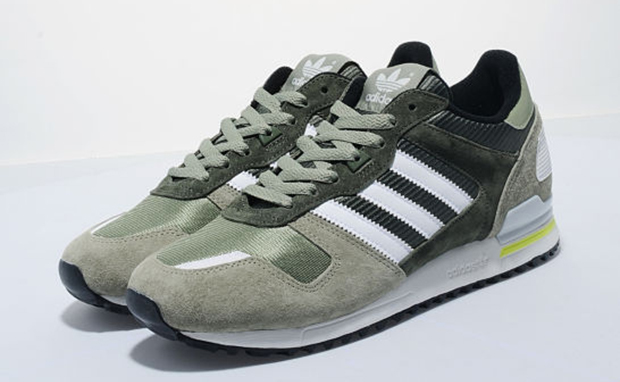 & adidas ZX 700 Tent Green/White | Nice Kicks