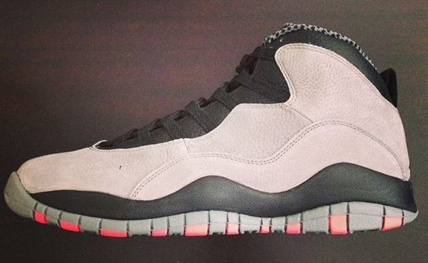 61fc3268e922c3 Air Jordan 10 Cool Grey Infrared Release Date