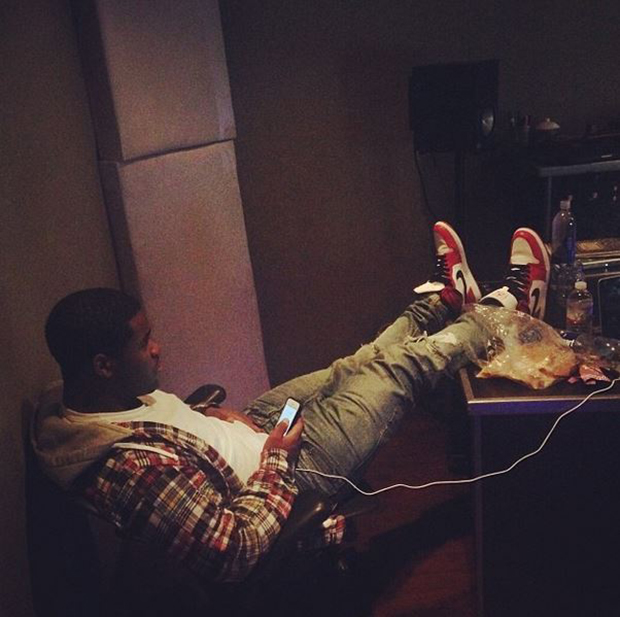 "A$AP Ferg in the Air Jordan 1 ""Chicago"""