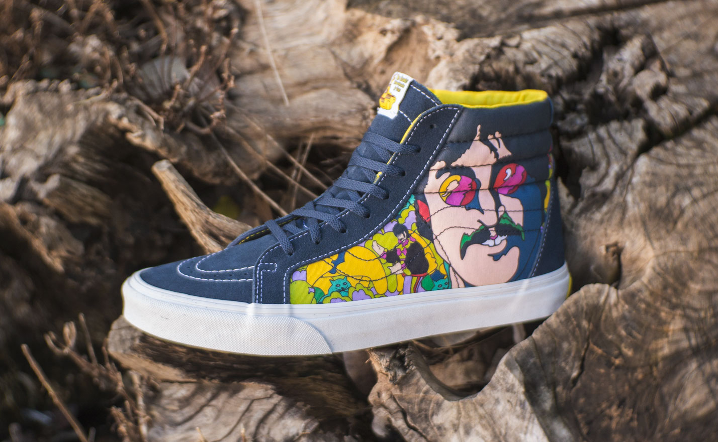 3a15e2d300 The Beatles x Vans Sk8-Hi