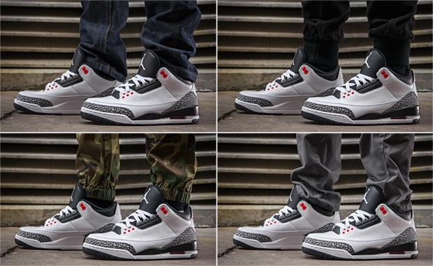 76ac407feb410b On-Foot Look  Air Jordan 3