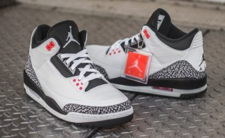 "6cad164c32bed4 Air Jordan 3 ""Infrared 23"" Detailed Images"