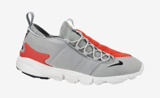 detailed look 7ccc9 afa68 Nike Air Footscape Motion Base Grey Light Crimson