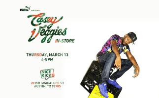 Casey Veggies Nice Kicks In-Store Event