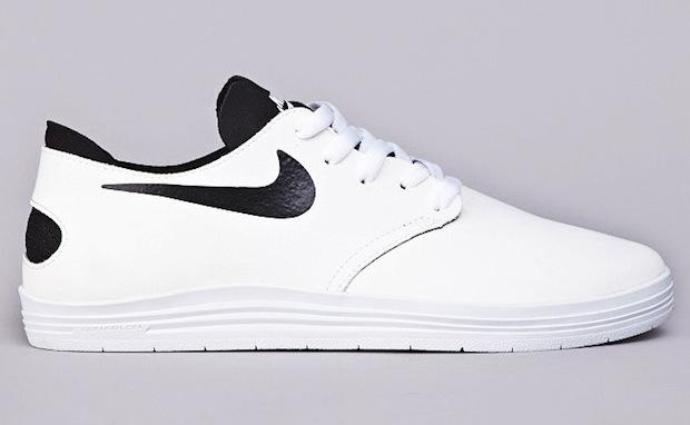 premium selection 85c91 303c9 ... Nike SB Lunar One Shot White Black Clean ...