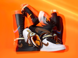 timeless design b579d 872ac Nike + R.T. Air Force 1 Collection Officially Unveiled