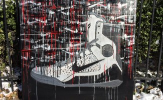 Nike Kobe 9 Elite Detail Art by Shannon Favia