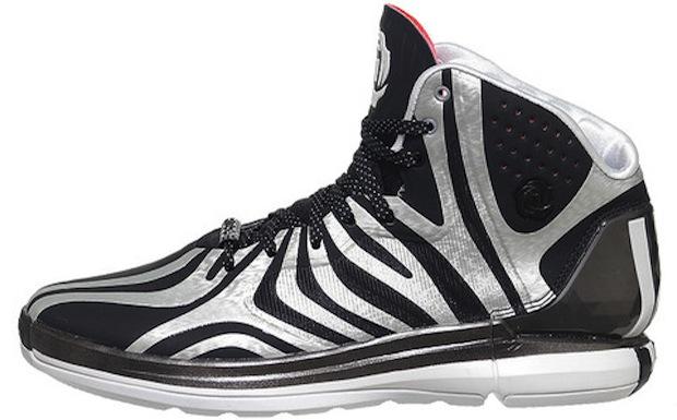 Adidas D Rose 4 5 Zebra Available Now Nice Kicks