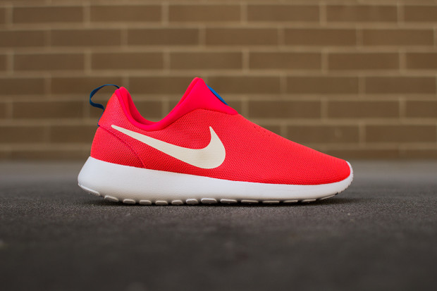"check out f44cc 1dca0 Nike Roshe Run Slip On ""Laser Crimson"""