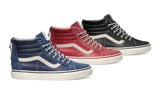 detailed look b85ca 13733 Vans Vault Sk8-Hi Zip LX Upcoming Colorways