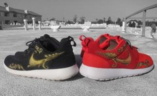 """96b5fafe87c8 Nike Roshe Run """"Supreme-Inspired"""" Custom"""
