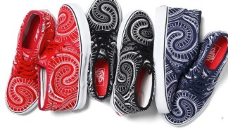 Supreme x Vans 2014 Summer Collection