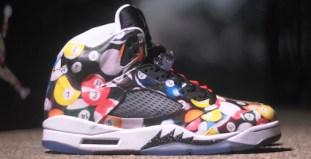 """17c28c9cd2f0 Air Jordan 5 """"House Party"""" Custom"""