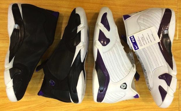 new arrival 40b94 0e8b3 Air Jordan 14 Ray Allen PE Set on eBay for $9,999 | Nice Kicks
