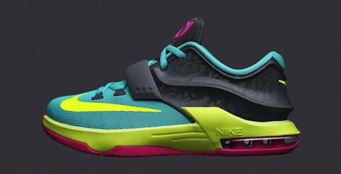 """the latest 9b9d3 51563 Nike KD VII GS """"Carnival"""" Release Date"""