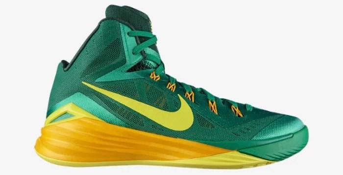 Nike Hyperdunk 2014 Lucky Green/Sonic Yellow | Nice Kicks