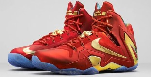 Nike-LeBron-11-Elite-Red-Gold-1